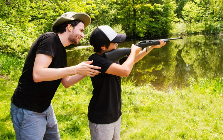 Learn about gun safety to protect entire family.